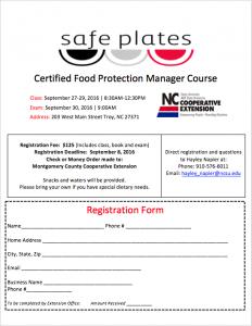 NC Safe Plates Registration Form