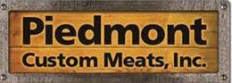 Piedmont Custom Meats, Inc sign
