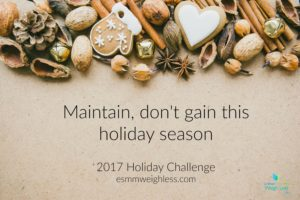 Cover photo for Worried Holiday Weight Gain Will Weigh You Down?