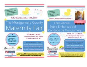 Cover photo for Annual Maternity Fair Coming Up!