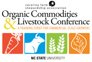 Cover photo for 2019 Organic Commodities & Livestock Conference