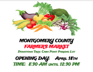 Cover photo for 2019 Montgomery County Farmer's Market Grand Opening