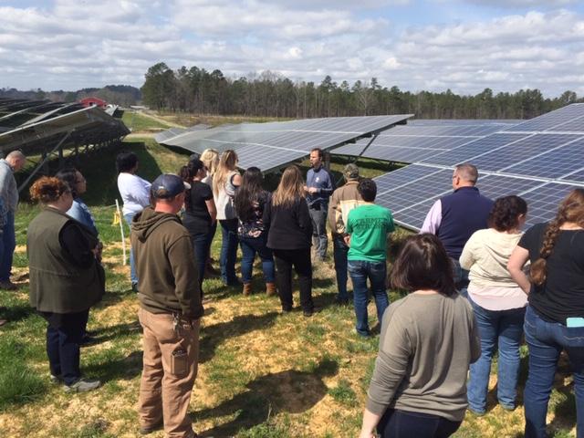 Solar Farm Tour