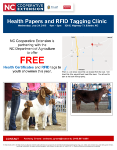 Cover photo for Health Paper & RFID Tagging Clinic