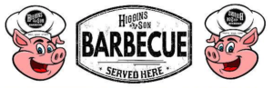Higgins and Son BBQ Logo