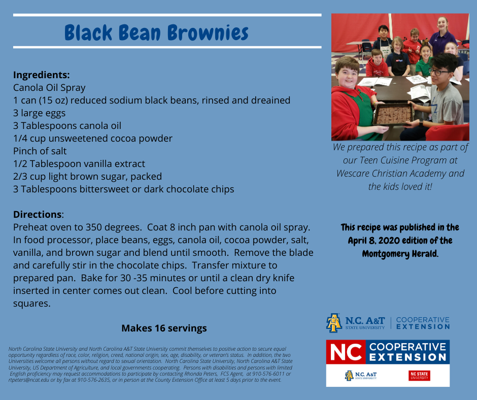 Black Bean Brownies recipe