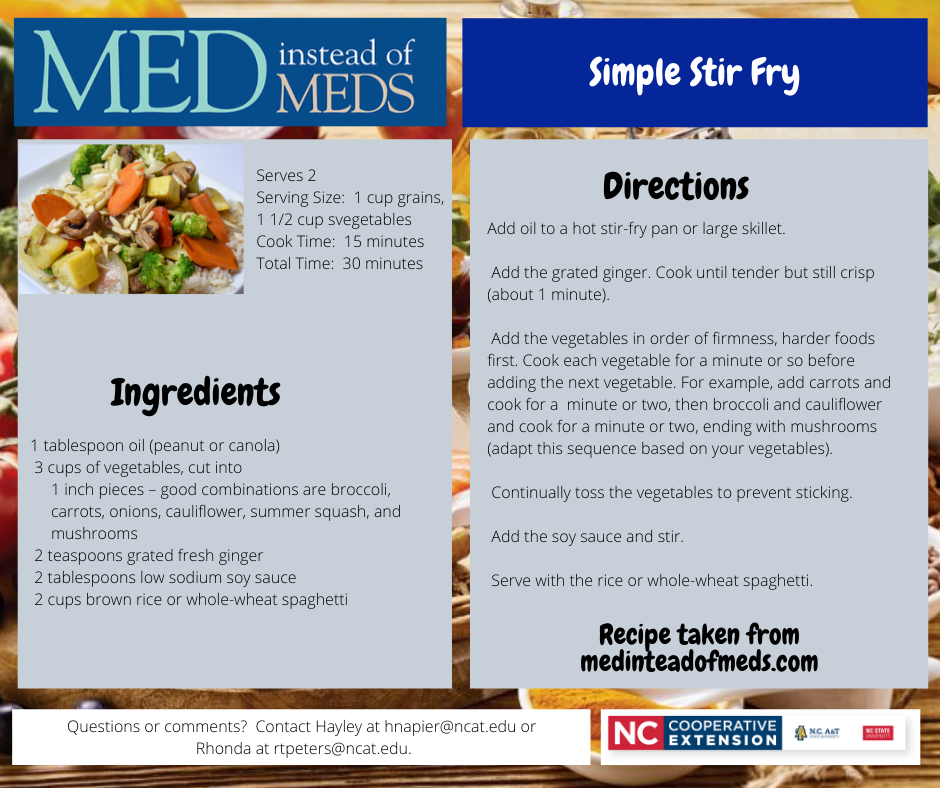 Simple Stir Fry recipe
