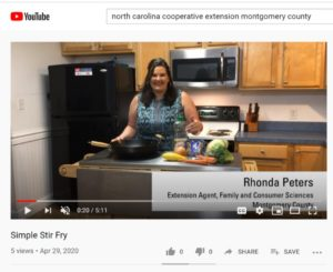 Cover photo for Simple Stir Fry Recipe Demonstration Video