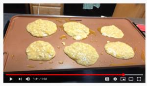Cover photo for Banana Oatmeal Pancakes Recipe Demonstration