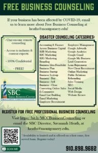 Business Counseling Poster