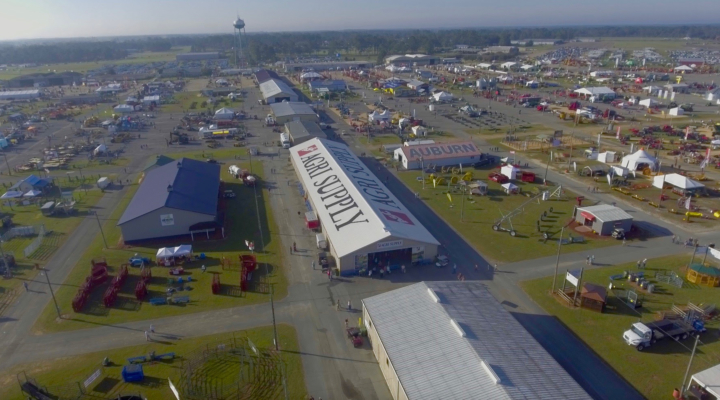 Aerial View of Sunbelt Ag Expo Grounds