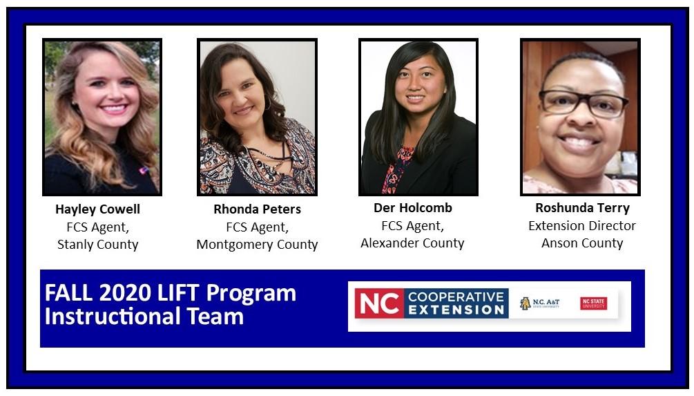 LIFT instructional team