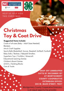 Cover photo for Montgomery Tree of Hope Christmas Coat & Toy Drive