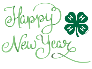 Cover photo for Happy New Year Montgomery 4H!