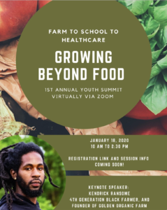 Cover photo for Growing Beyond Food - Youth Summit