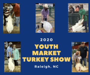 Cover photo for 2020 NC State Fair Youth Market Turkey Show
