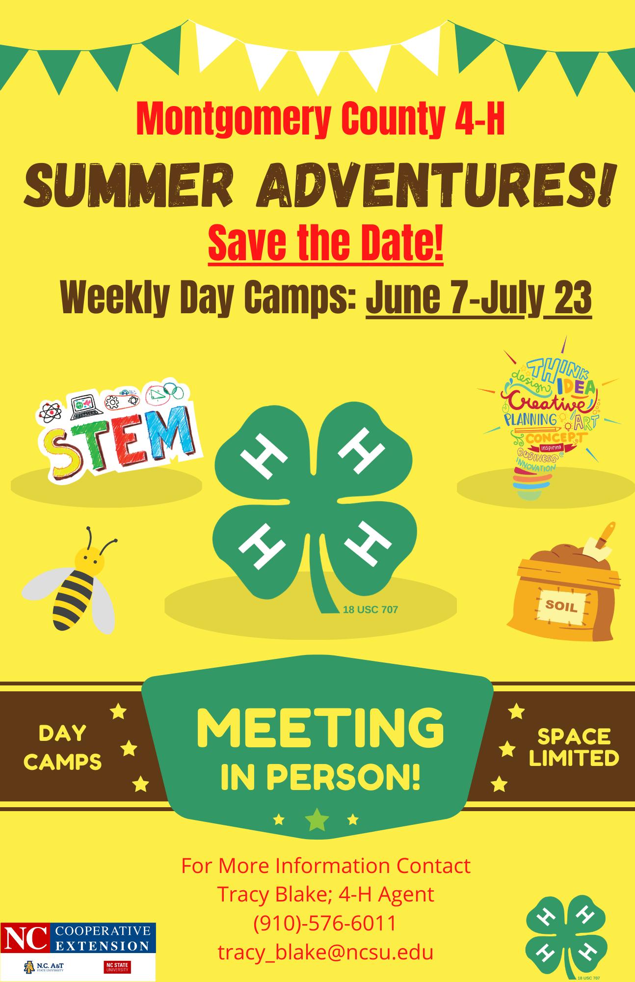 Summer Adventures flyer image