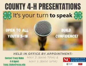 Cover photo for 2021 4-H County Activity Day Presentations