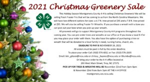 Cover photo for 2021 4-H Christmas Greenery Sale
