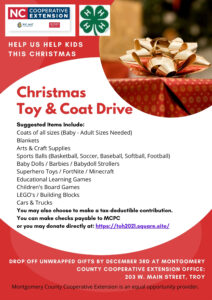 Cover photo for Montgomery County Tree of Hope Toy & Coat Drive